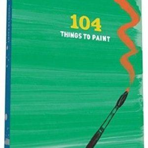 carte 104 lucruri de pictat