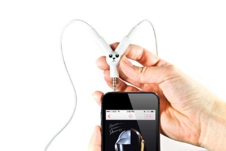 splitter pentru casti telefon