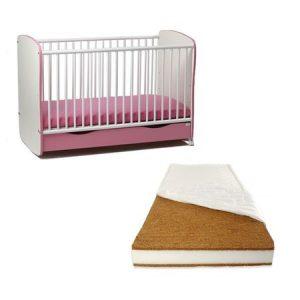cadou pentru bebelus patut lemn sertar si leganare