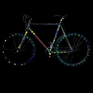 abtibilduri reflectorizante bicicleta