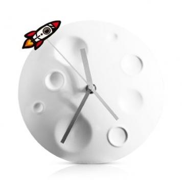 ceas perete luna