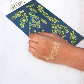 tatuaje temporare fosforescente